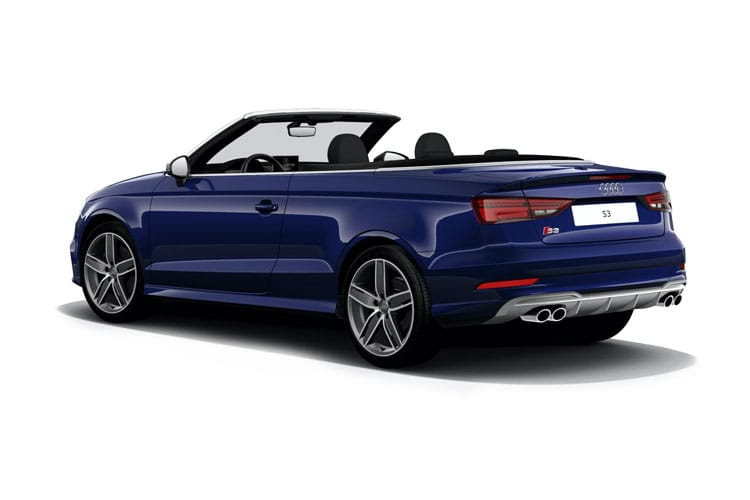 Audi A3 Cabriolet 2Dr 1.6 TDI 110PS Sport 2Dr Manual [Start Stop] back view