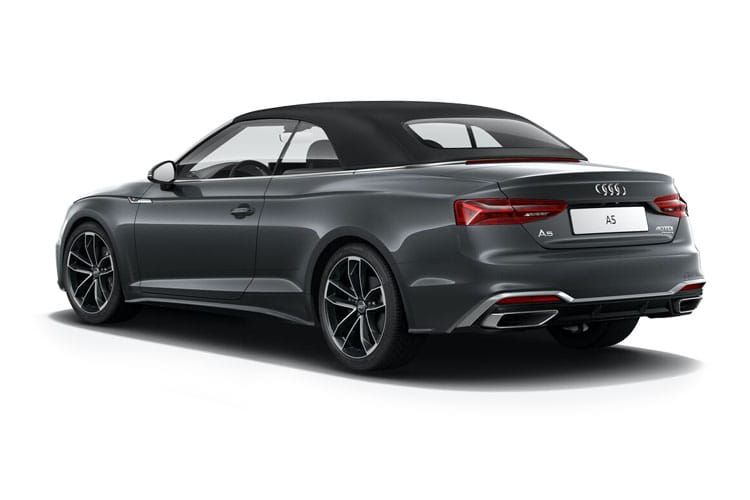 Audi A5 45 Cabriolet quattro 2Dr 2.0 TFSI 265PS Edition 1 2Dr S Tronic [Start Stop] [Comfort Sound] back view