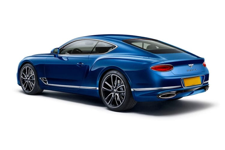 Bentley Continental GT Coupe 6.0 W12 635PS  2Dr Auto back view