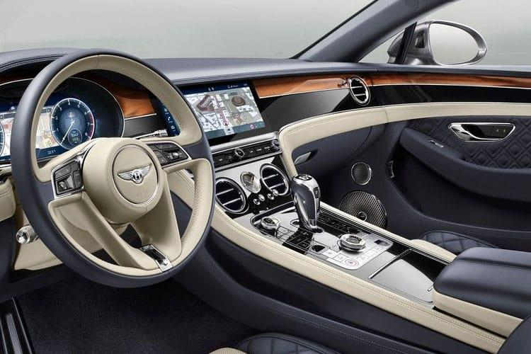 Bentley Continental GT Coupe 6.0 W12 635PS  2Dr Auto inside view