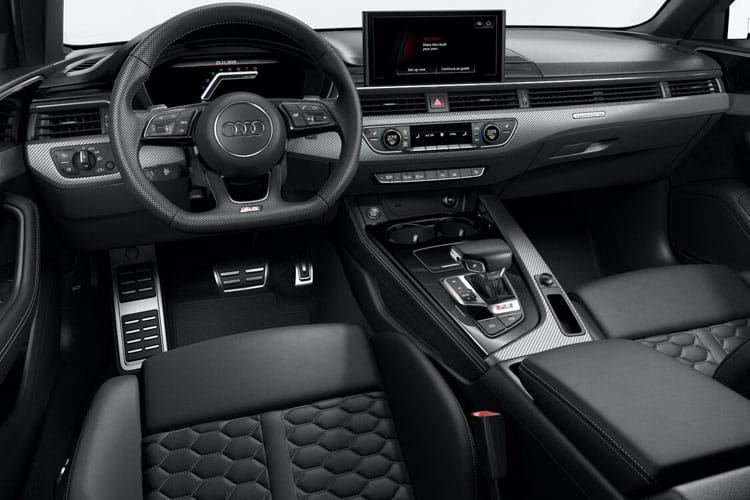 Audi A4 35 Avant 5Dr 2.0 TFSI 150PS Black Edition 5Dr S Tronic [Start Stop] [Comfort Sound] inside view