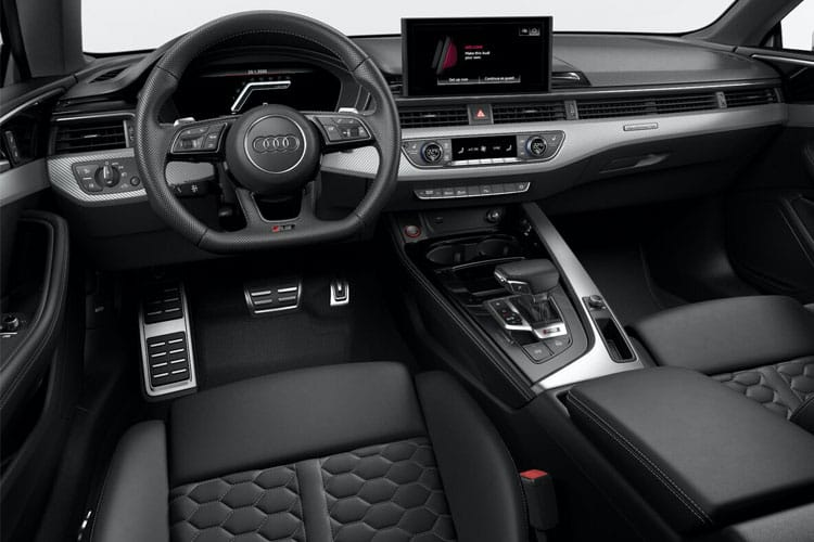 Audi A5 45 Sportback quattro 5Dr 2.0 TFSI 245PS S line 5Dr S Tronic [Start Stop] inside view